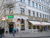 Cafe-Restaurant Hummel in der Josefstadt in Wien