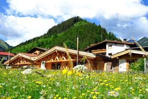 Appartements*** und Luxury Chalets**** Wiesenruh in Bichlbach in der Tiroler Zugspitz Arena