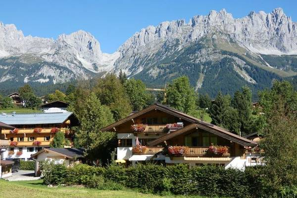 Gasthof Dorfwirt in Going am Wilden Kaiser in Tirol