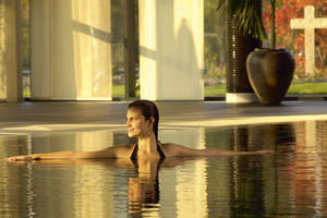 Wellness in der Linsberg Asia Therme in den Wiener Alpen